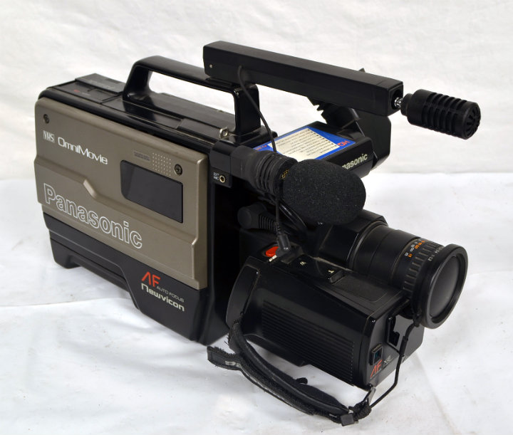 Period Panasonic VHS video camera