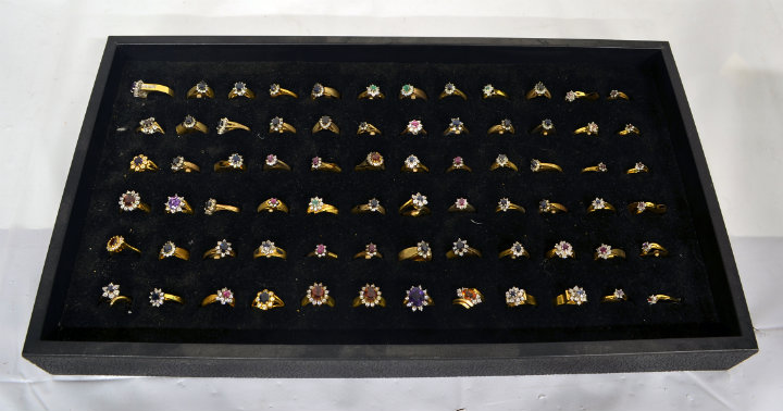 Assorted womens rings 6