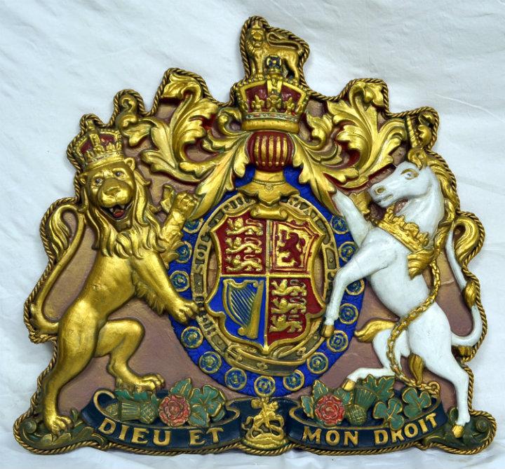 Royal coat of Arms UK