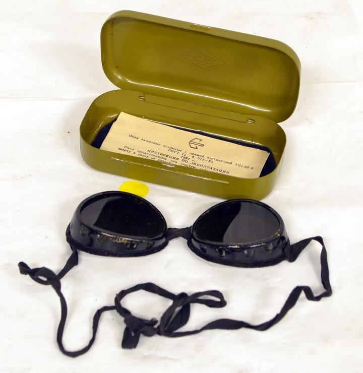 Period welders goggles