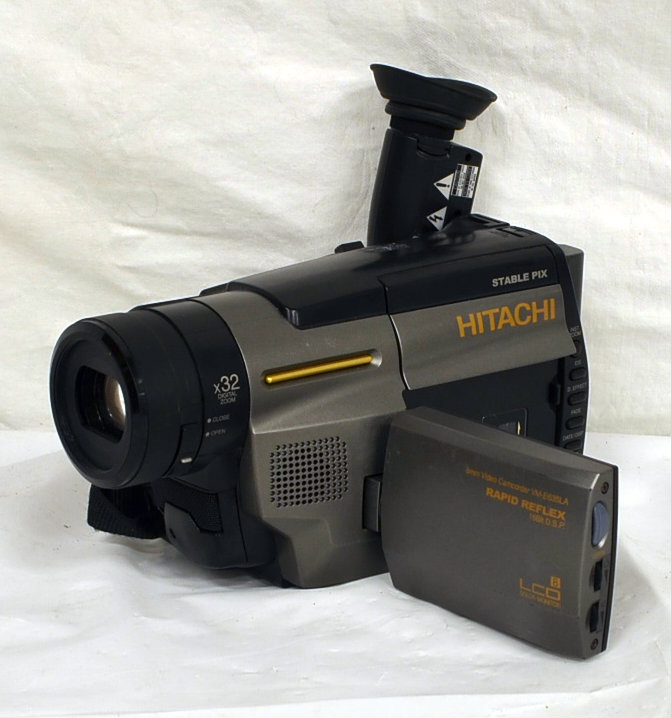 Hitachi camcorder - functions (1997)