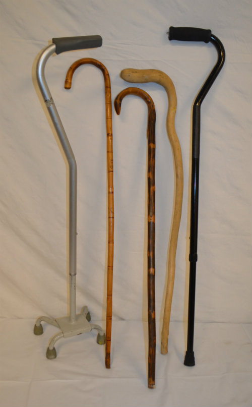 Assorted canes