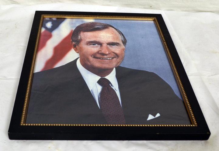 George W. Bush Sr. portrait