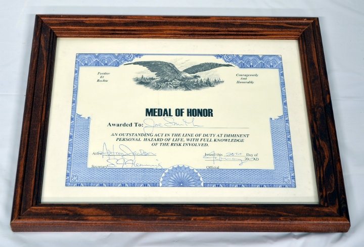 Medal of Honor Award