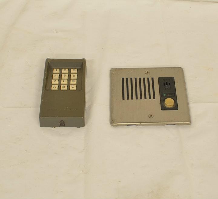 Keypad-Intercom panels
