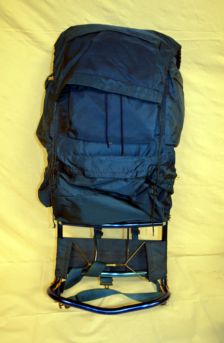 Hiking backpack - blue
