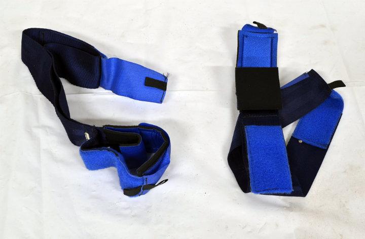 Nylon wrist restraints