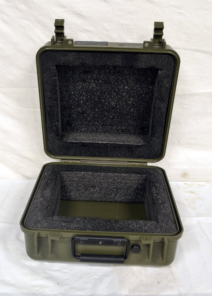 Small military case 1 - inside