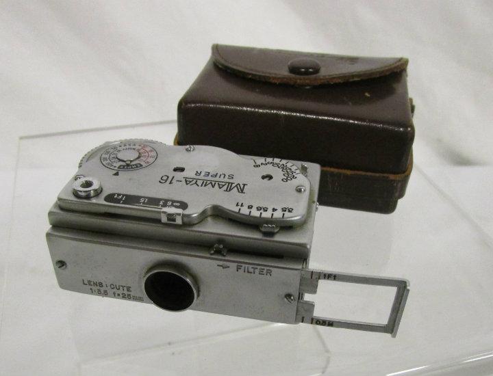 mamiya 16S spy camera with case