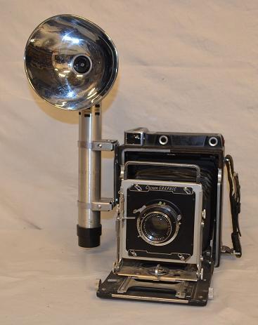 Crown Graphic 4x5 Press Camera