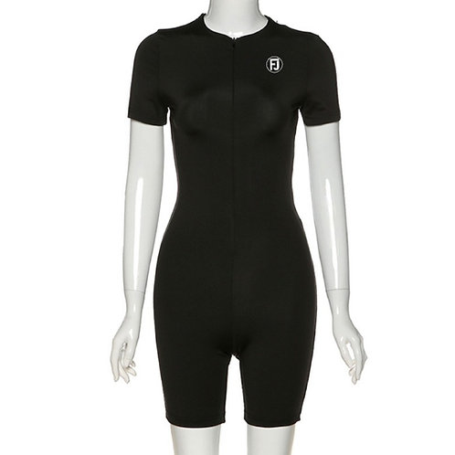 BLACK SHORT FJ JUMPSUIT