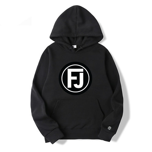 FJ 2 BLACK HOODIE