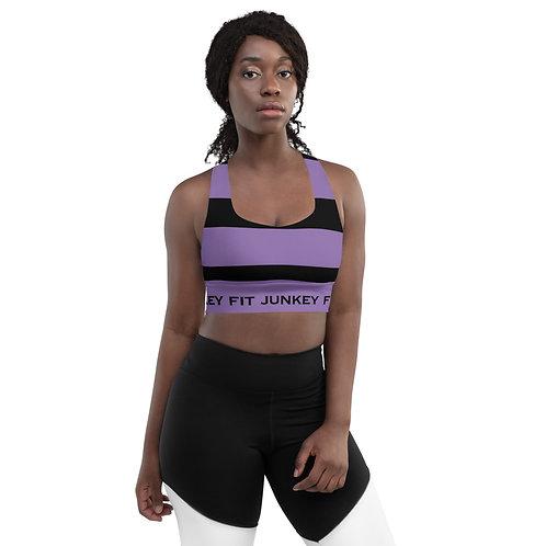 Purple Compression Sports Bra