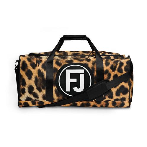 Cheetah Duffle Bag