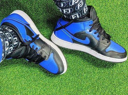 FJ Black Signature Socks