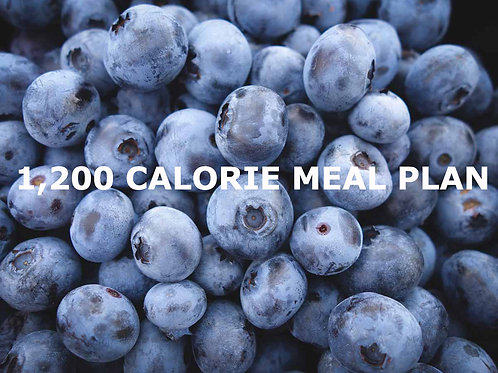 1200 Calories A Day, 7-Day Meal Plan
