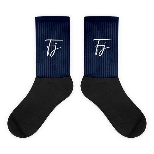 Navy FJ Socks
