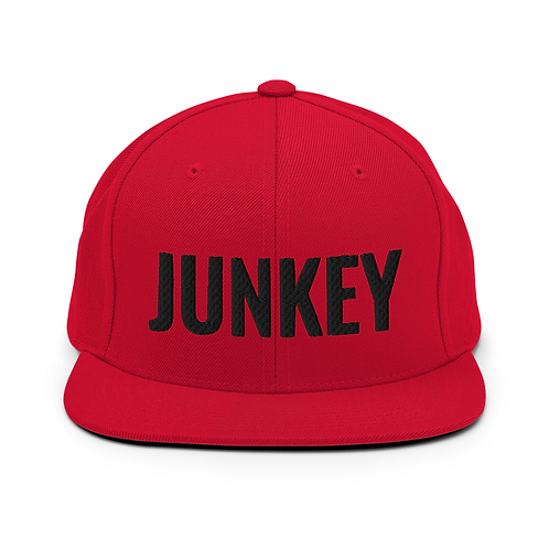 Red JUNKEY Hat