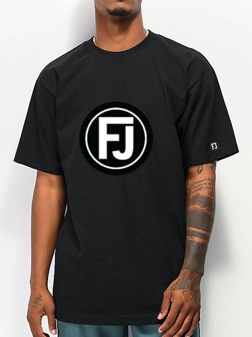 BLACK FJ TEE
