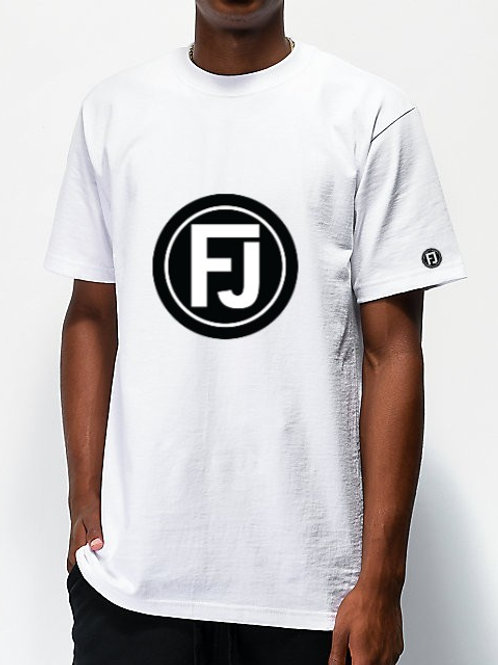WHITE FJ TEE