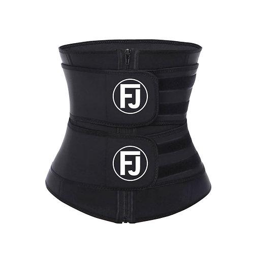 FJ Double Compression Workout Sauna Waist Trainer