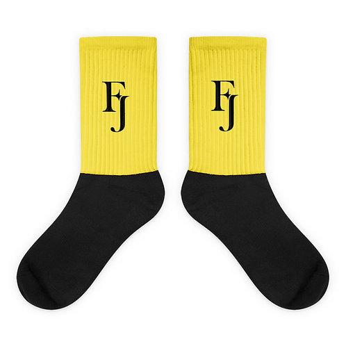 Yellow FJ Socks