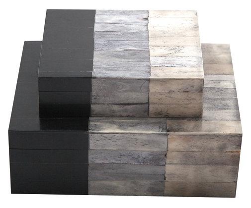 Bone Box White / Grey / Black