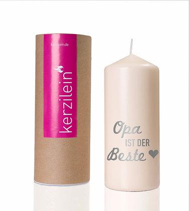 Kerzilein / Opa ist der Beste - Flamme