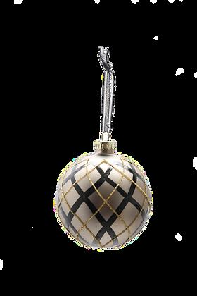 Christmas GlobeChampagne/Black
