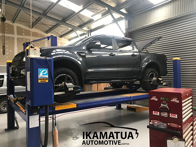 Ford Ranger Wheel Alignment