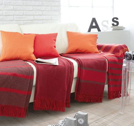 Wolldecke Spiga Rossa