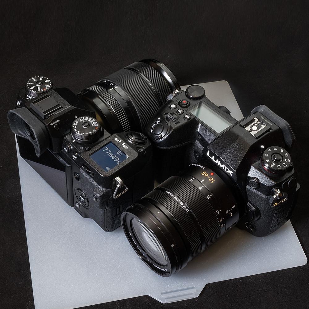 Fujifilm X-H1  Panasonic DC-G9