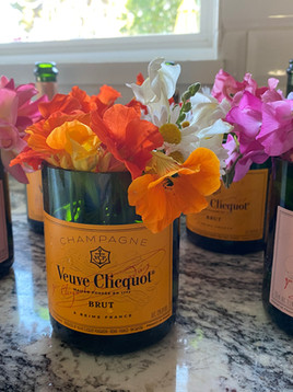 Champagne and Blooms