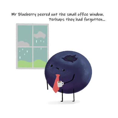 Mr Bluberry's Birthday Page 6