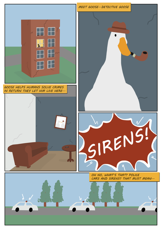 Detective Goose Page 1