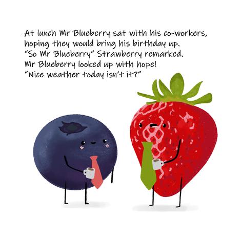 Mr Bluberry's Birthday Page 5