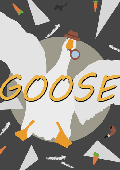 Detective Goose Front Cover