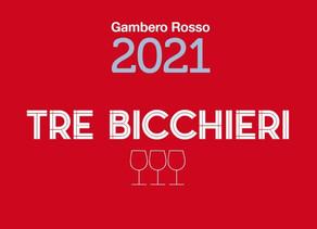 Tre Bicchieri Gambero Rosso 2021: i vini premiati regione per regione