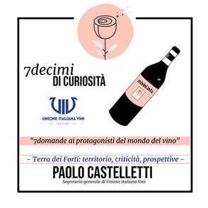7decimi di curiosità: Paolo Castelletti e la Terra dei Forti