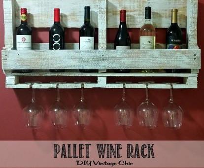 Wine & pallet: quando gusto e design si incontrano