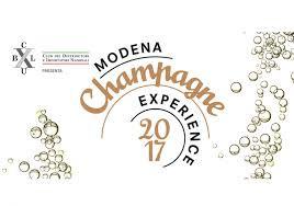 Modena, Champagne in mostra ad ottobre