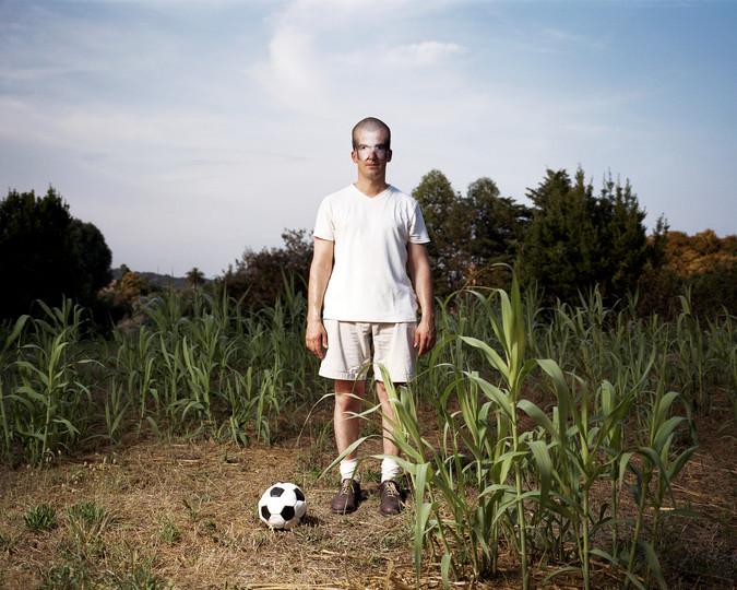 With a Zidane mask