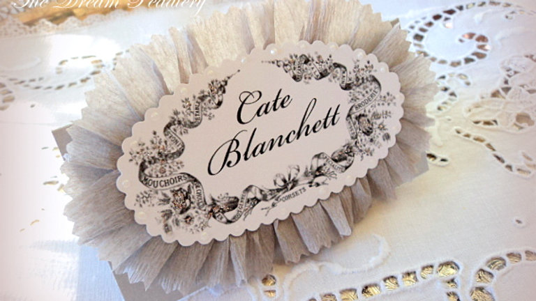 French Frills Place Cards