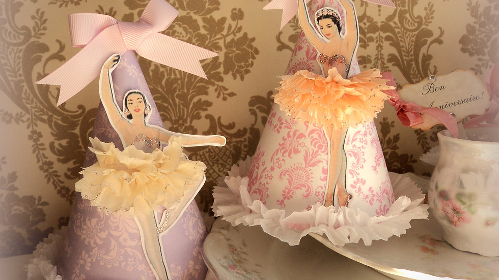 Ballerina Party Hats