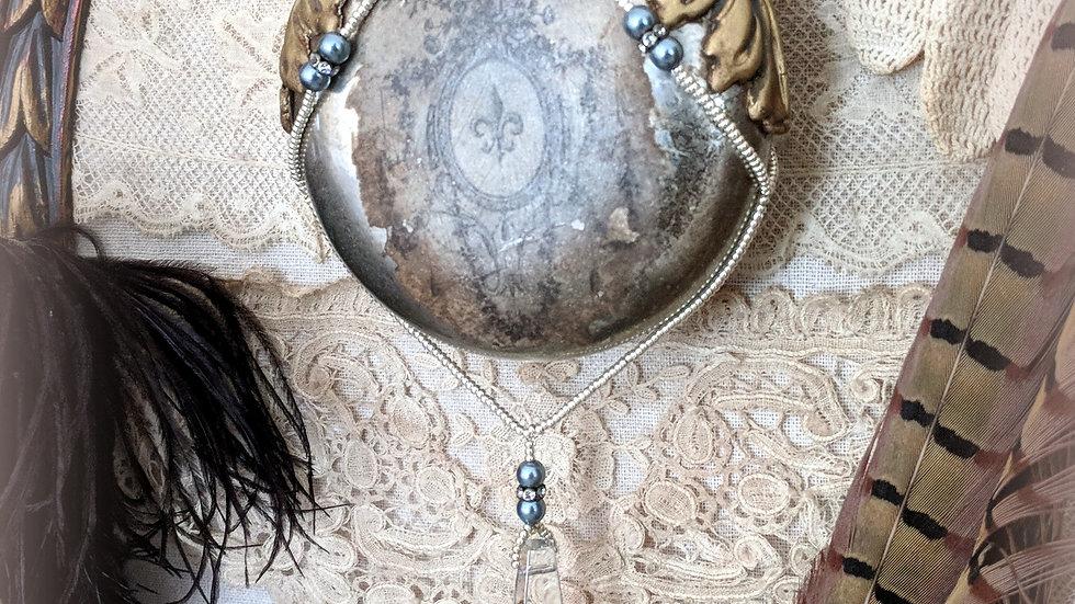 Twilight Dreams Mercury Glass Ornament