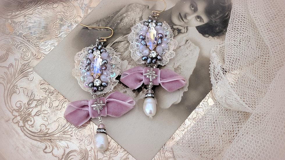 Lavender Blush Earrings