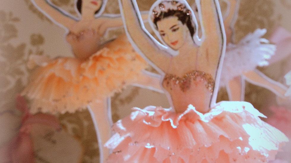 Darling Dancer Ballerina Toppers