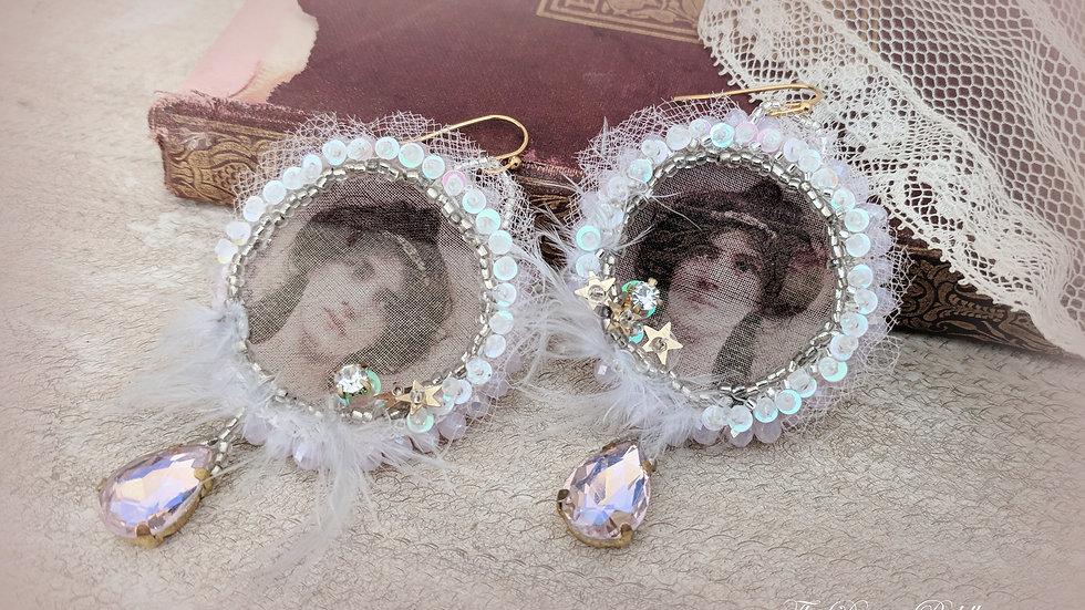 Delicate Past Earrings