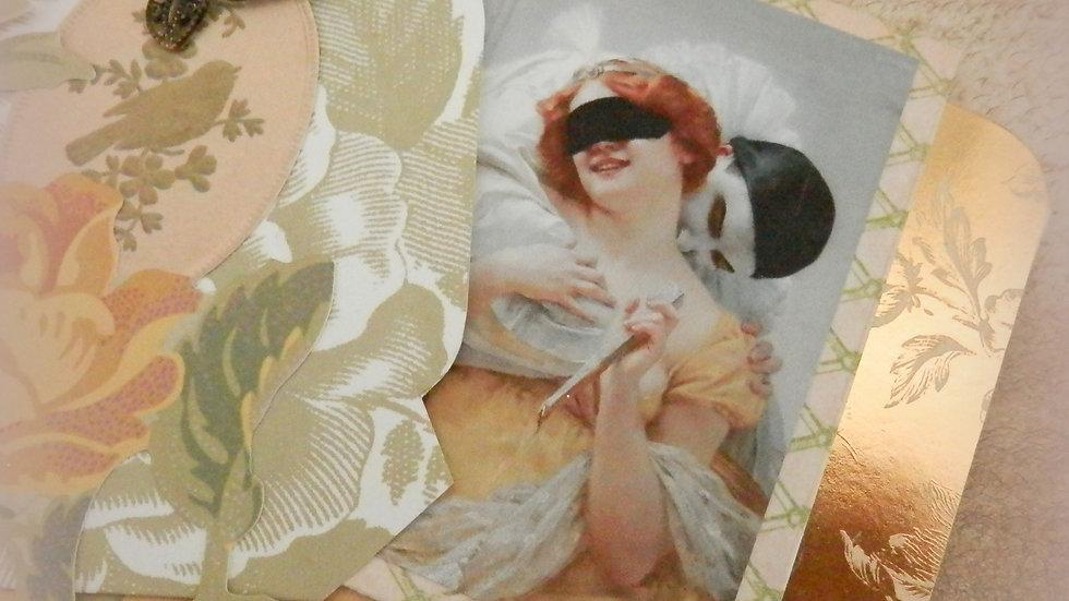 Happy Together Wedding 4x6 Album Card