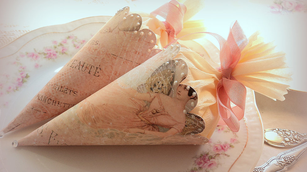 Flutterby Fairy Cones